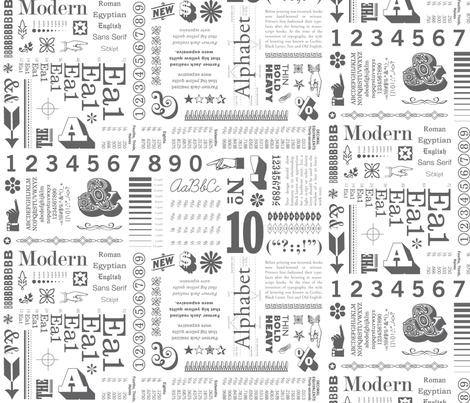 Typo Graphic Pepper Pot