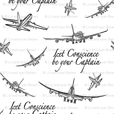 Airplane Quotes Giftwrap Thinlinetextiles Spoonflower Fascinating Airplane Quotes