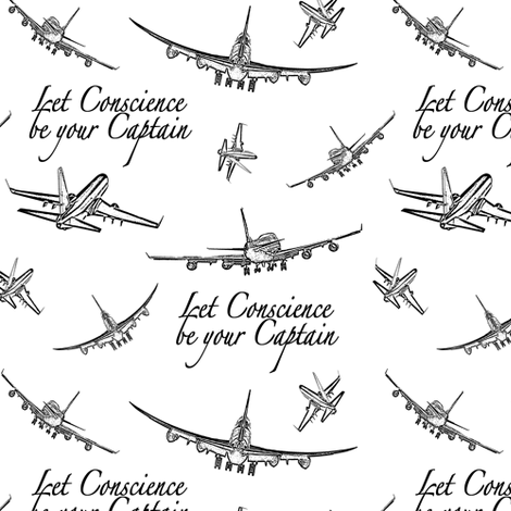 Airplane Quotes Fabric Thinlinetextiles Spoonflower Delectable Airplane Quotes