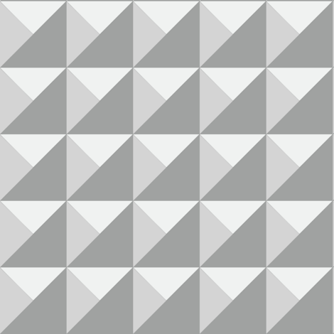 Monochrome gray pyramids fabric by tarareed on Spoonflower - custom fabric