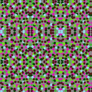 Confetti (pink and green)