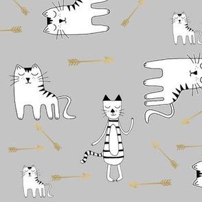 Cats Arrow - -Namümade design