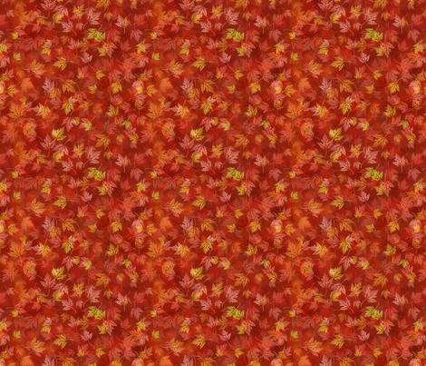 Faux Batik Red Maple fabric by robin_wood on Spoonflower - custom fabric