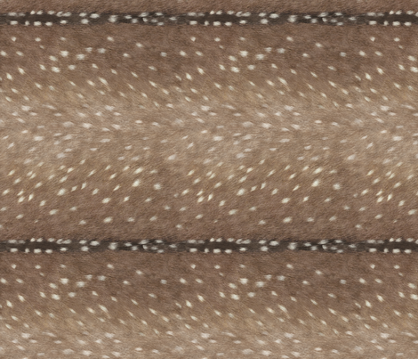 Railroaded Deer Hide // Taupe fabric by willowlanetextiles on Spoonflower - custom fabric