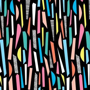 Funfetti Confetti - Black