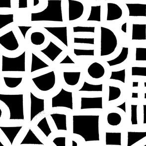 Windows - Black - Reverse - Wallpaper