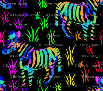 Zebras are what they eat at night