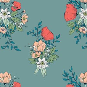 Botanical Pattern 001