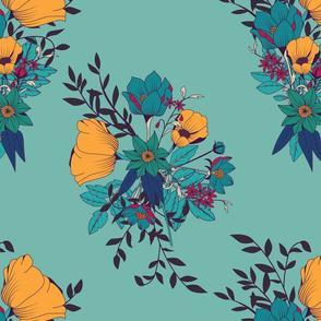Botanical Pattern 007