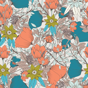 Botanical Pattern 011