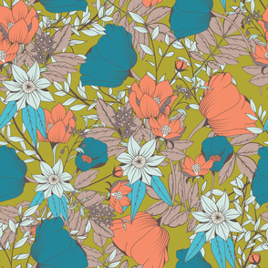 Botanical Pattern 013