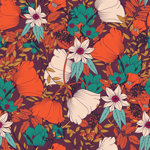 Botanical Pattern 010