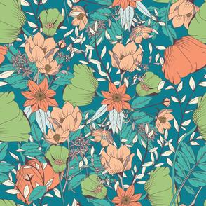 Botanical Pattern 012