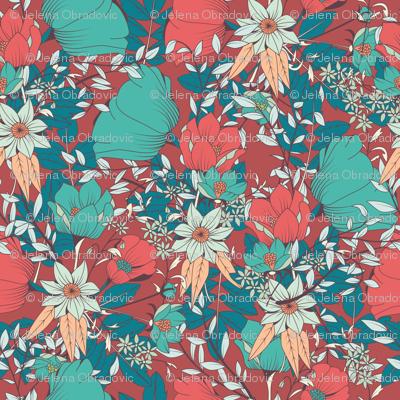 Botanical Pattern 014