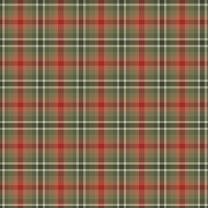 Happy Hollydays Windowpane Plaid