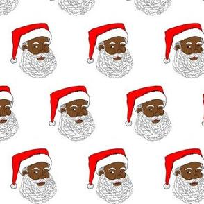 African American Santa Small
