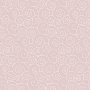 Snow Plum Mei - Leggings Fabric Pattern
