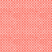 Gridlock Small - Coral