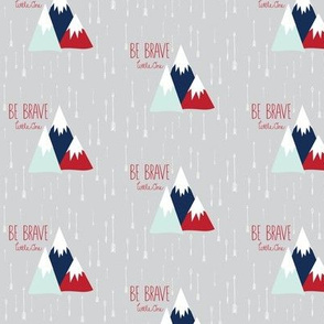 Move Mountains Red + Mist + Navy