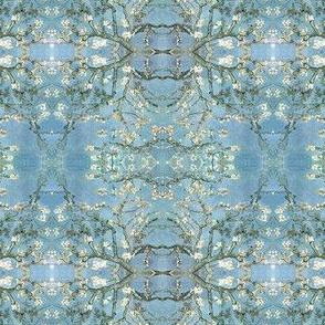 Van Gogh's Almond Tree in a Pattern