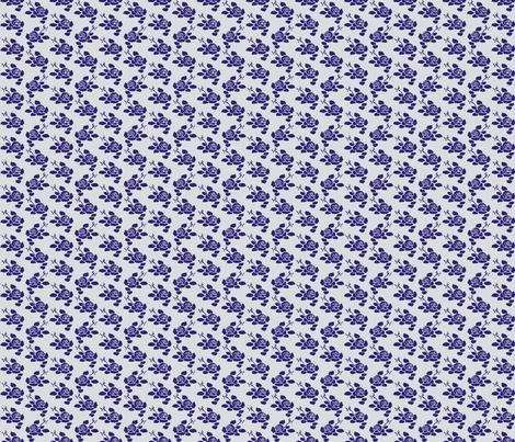 Anita Petite - Blue Dazzle & Grey fabric by jodiebarker on Spoonflower - custom fabric
