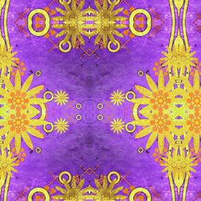 Gold in Purple