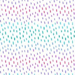 Colorful marker doodle