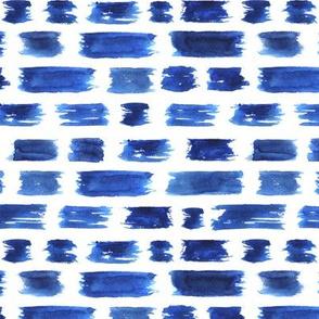 Ultramarine brushstrokes