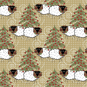 Happy Hollydays to Ewe (7x6)