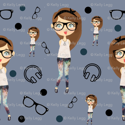 Hipster Chick