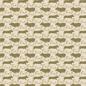 Pembroke Welsh Corgi frap - small tan