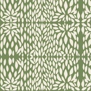 clover petal cream/olive