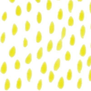 yellow water color dots