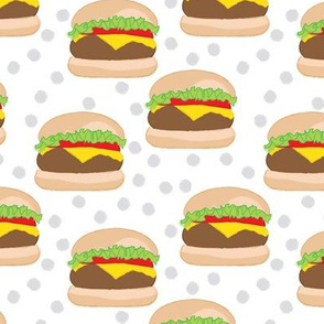 cheeseburgers-on-white-with-polka-dots