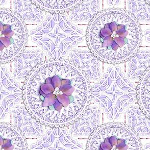 Victorian Delphinium & Lace