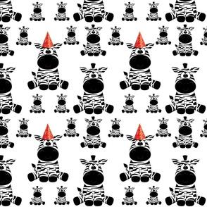 The party Zebra