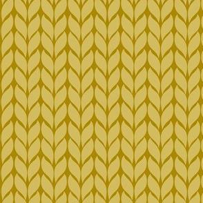 Fallknit (chunky) - mustard