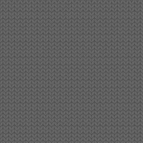Fallknit (tiny) - grey