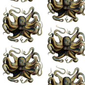 Vintage Octopus Illustration