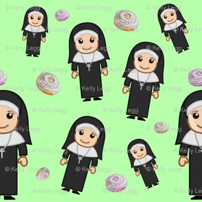 Sticky Bun Nuns