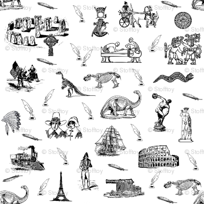 moments of history - toile