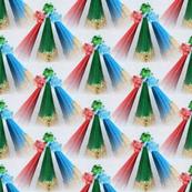 three colors pyramide