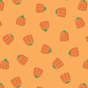 Pumpkin Candy Corn