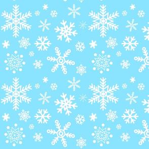 Aqua Snowflake