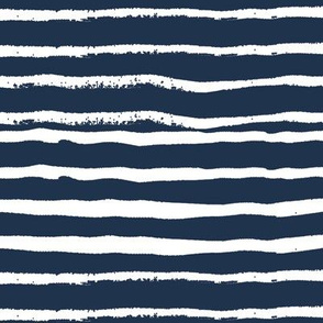 hand painted stripes navy blue kids simple scandi design coordinate simple woodland forest kids boys nursery