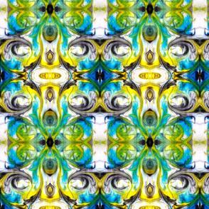 Turqouise slate swirl