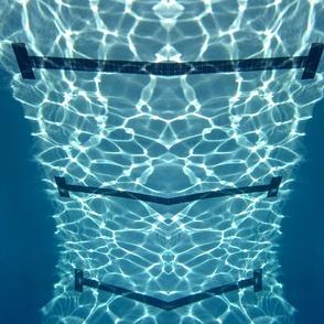 Underwater Pool Lines & Heart