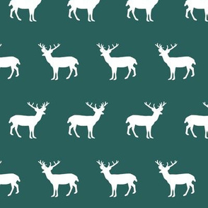 deer silhouette green christmas xmas holiday christmas deer woodland