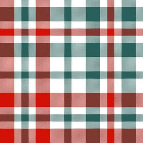 plaid red and green plaids christmas holiday xmas checks tartans