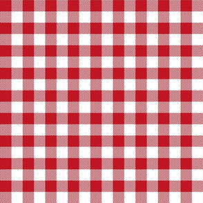 red and white christmas plaid check gingham checks